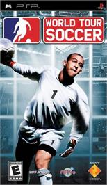 Box cover for World Tour Soccer on the Sony PSP.