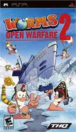 Box cover for Worms: Open Warfare 2 on the Sony PSP.