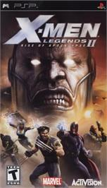 Box cover for X-Men: Legends II - Rise of Apocalypse on the Sony PSP.