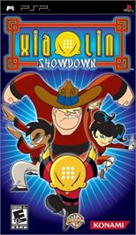 Box cover for Xiaolin Showdown on the Sony PSP.