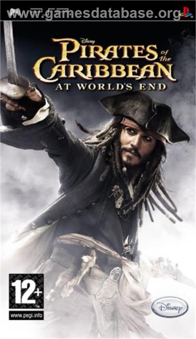 Pirates of the Caribbean: At World's End - Sony PSP - Artwork - Box