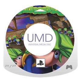 Cartridge artwork for Lemmings on the Sony PSP.