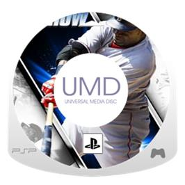 Cartridge artwork for MLB 06: The Show on the Sony PSP.