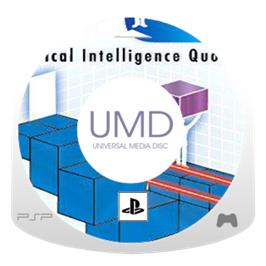 Cartridge artwork for PQ: Practical Intelligence Quotient on the Sony PSP.
