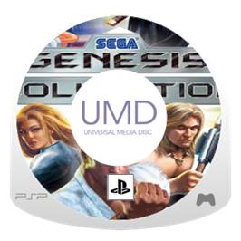 Cartridge artwork for SEGA Genesis Collection on the Sony PSP.