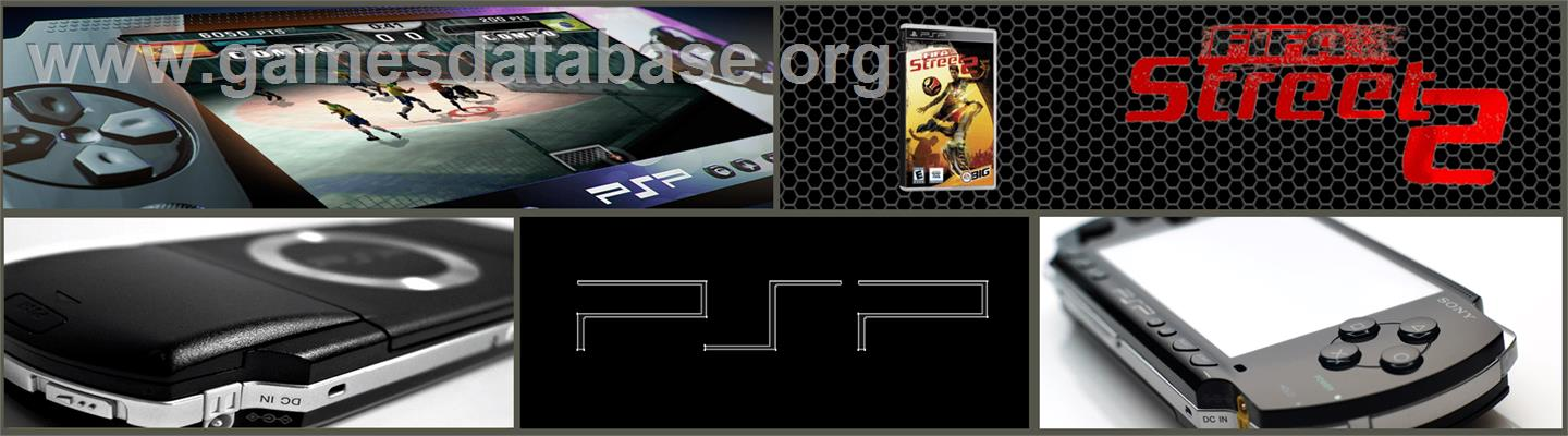 FIFA Street 2 - Sony PSP - Artwork - Marquee