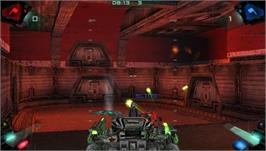 In game image of Battle Zone on the Sony PSP.