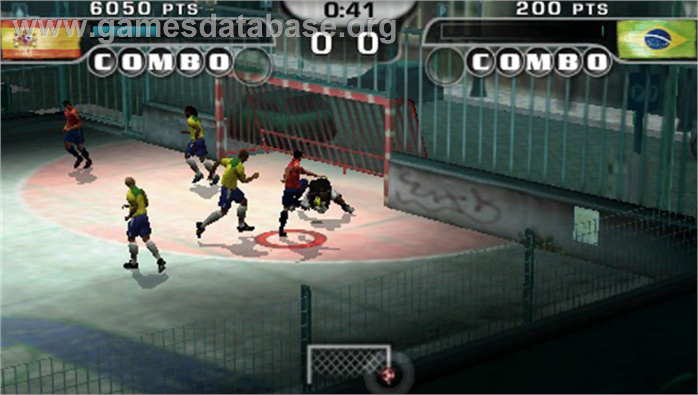 FIFA Street 2 - Sony PSP - Artwork - In Game