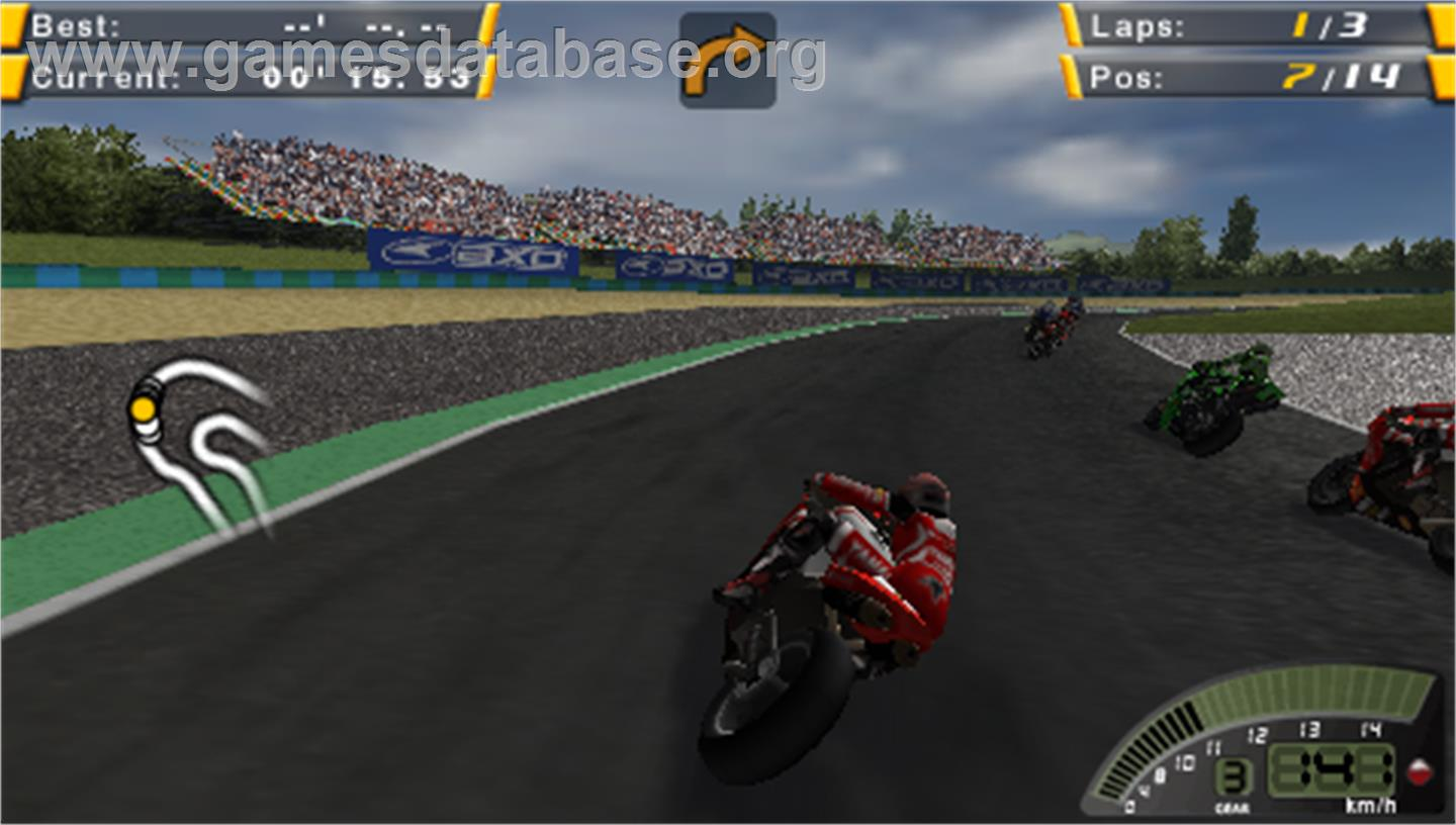 SBK-07: Superbike World Championship - Sony PSP - Artwork - In Game