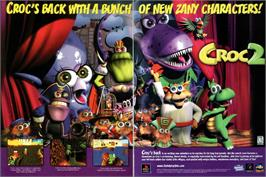 Advert for Croc 2 on the Sony Playstation.