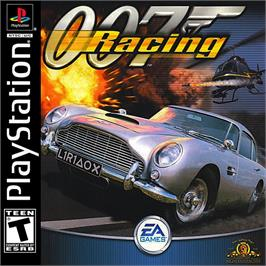 Box cover for 007: Racing on the Sony Playstation.