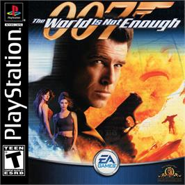 Box cover for 007: The World is Not Enough on the Sony Playstation.