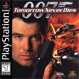 Box cover for 007: Tomorrow Never Dies on the Sony Playstation.