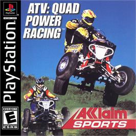 Box cover for ATV: Quad Power Racing on the Sony Playstation.