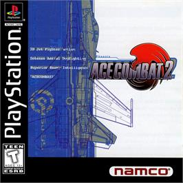 Box cover for Ace Combat 2 on the Sony Playstation.