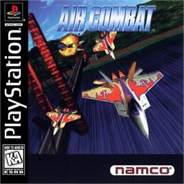Box cover for Air Combat on the Sony Playstation.