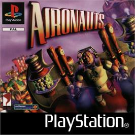 Box cover for Aironauts on the Sony Playstation.