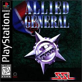 Box cover for Allied General on the Sony Playstation.