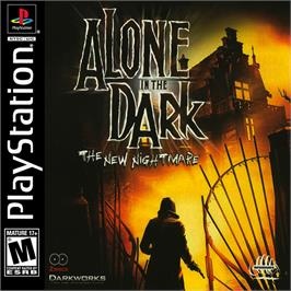 Box cover for Alone in the Dark: The New Nightmare on the Sony Playstation.