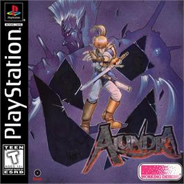 Box cover for Alundra on the Sony Playstation.