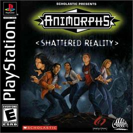 Box cover for Animorphs: Shattered Reality on the Sony Playstation.