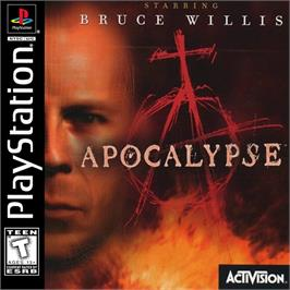 Box cover for Apocalypse on the Sony Playstation.