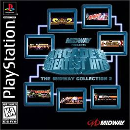 Box cover for Arcade's Greatest Hits: The Midway Collection 2 on the Sony Playstation.