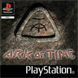 Box cover for Ark of Time on the Sony Playstation.