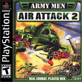 Box cover for Army Men: Air Attack 2 on the Sony Playstation.