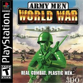 Box cover for Army Men: World War on the Sony Playstation.