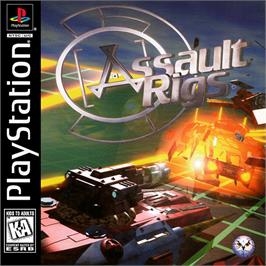 Box cover for Assault Rigs on the Sony Playstation.
