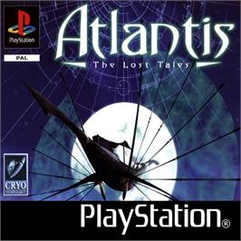 Box cover for Atlantis: The Lost Tales on the Sony Playstation.