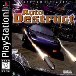 Box cover for Auto Destruct on the Sony Playstation.
