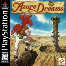Box cover for Azure Dreams on the Sony Playstation.