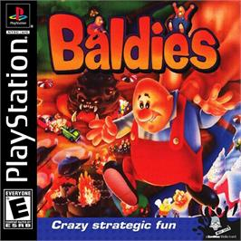Box cover for Baldies on the Sony Playstation.
