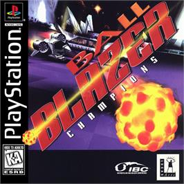 Box cover for Ballblazer Champions on the Sony Playstation.