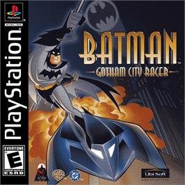 Box cover for Batman: Gotham City Racer on the Sony Playstation.