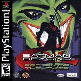 Box cover for Batman Beyond: Return of the Joker on the Sony Playstation.