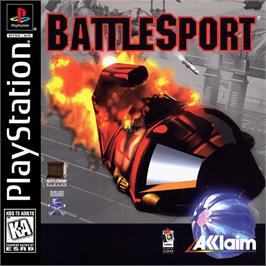 Box cover for Battlesport on the Sony Playstation.