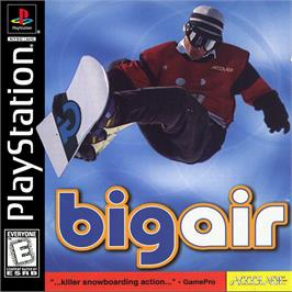 Box cover for Big Air on the Sony Playstation.