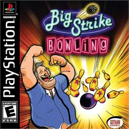 Box cover for Big Strike Bowling on the Sony Playstation.