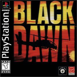 Box cover for Black Dawn on the Sony Playstation.