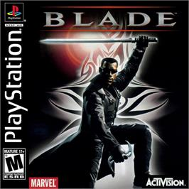Box cover for Blade on the Sony Playstation.