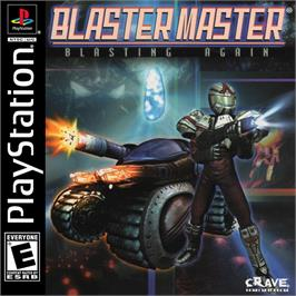 Box cover for Blaster Master: Blasting Again on the Sony Playstation.