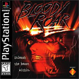 Box cover for Bloody Roar on the Sony Playstation.