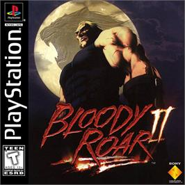 Box cover for Bloody Roar II on the Sony Playstation.