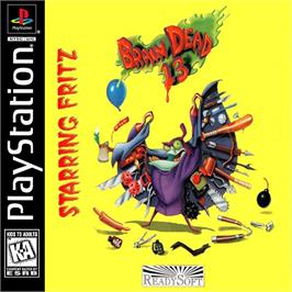 Box cover for Braindead 13 on the Sony Playstation.