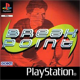 Box cover for Break Point on the Sony Playstation.