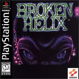 Box cover for Broken Helix on the Sony Playstation.