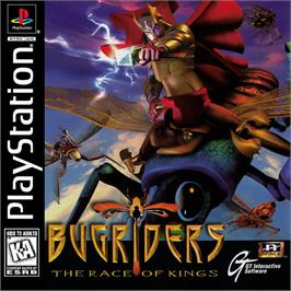 Box cover for BugRiders: The Race of Kings on the Sony Playstation.